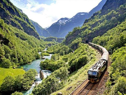 弗洛姆高山小火车